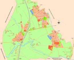Plànol del municipi de  Vilafant