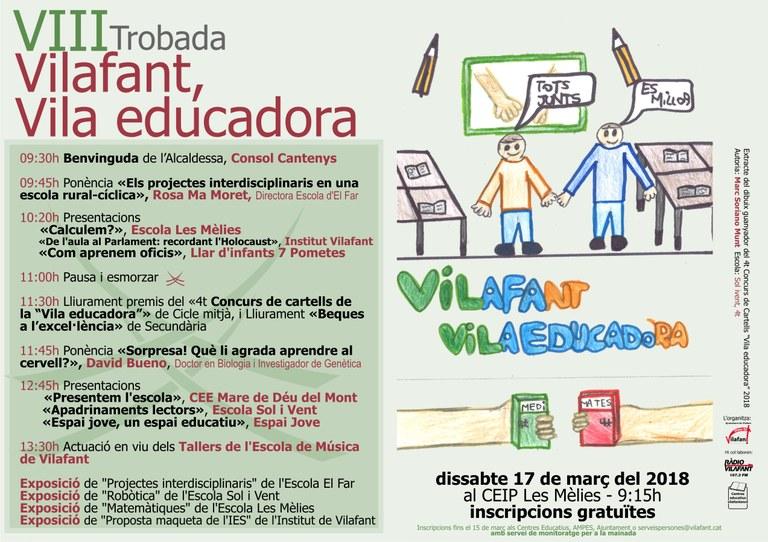 Vilafant Vila Educadora 2018