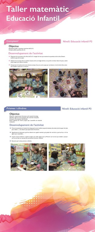 Taller matemaiques Educació Infantil 1