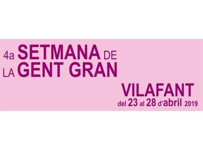4a Setmana de la gent gran de Vilafant - 2019
