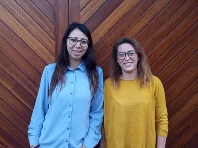L'Ajuntament de Vilafant contracta a dues joves en pràctiques per ocupar el lloc d'agents cíviques