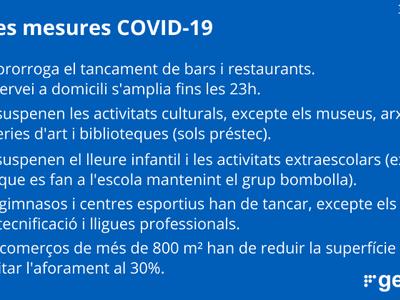 Mesures i restriccions COVID-19