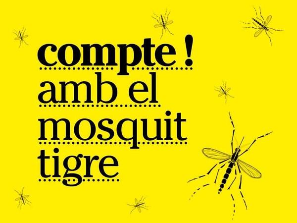 Tractament del mosquit tigre