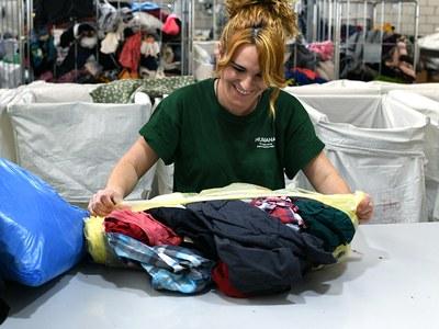 Vilafant ha reciclat el 2019 més de 28.000 peces de roba i sabates
